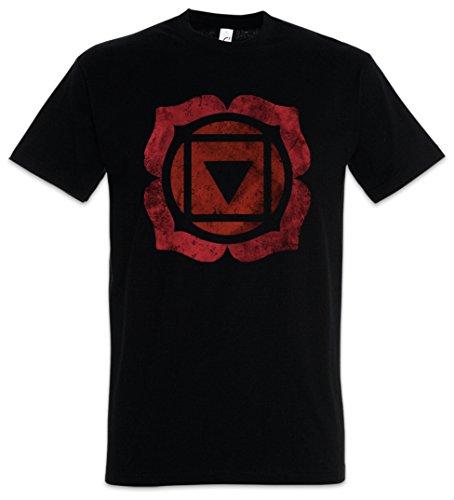 Urban Backwoods Chakra Muladhara Root Camiseta De Hombre T-Shirt Negro Talla S