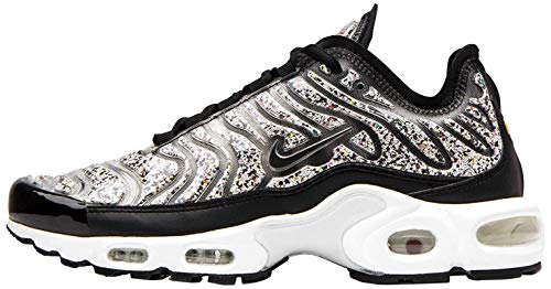 Nike Womens Air Max Plus Lx Womens Ar0970-001 Size 7 Black/Black-White