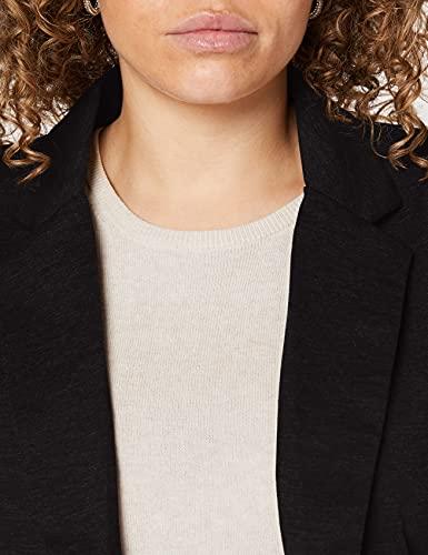 ICHI KATE BL, Chaqueta de traje Mujer, Schwarz (Black ( Solid) 10001), 36 (Talla fabricante: S)