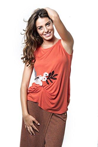 Mamatayoe Grosella Camiseta para Mujer