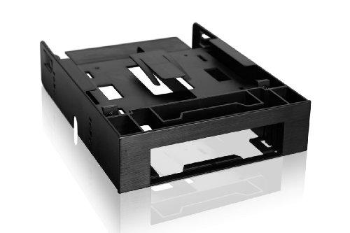 Icy Dock Flex-Fit Trio MB343SP - Frontblenden-Adapter für 2x 2,5 Zoll (6,4cm) SSDs/HDDs und 1x 3,5 Zoll (8,9cm) Gerät/HDD in 1x 5,25 Zoll (13,3cm)