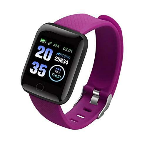 N-B Fitness Tracker116 P L U S pantalla a color podómetro deporte pulsera fitness monitor de pasos digital L C D contador de calorías