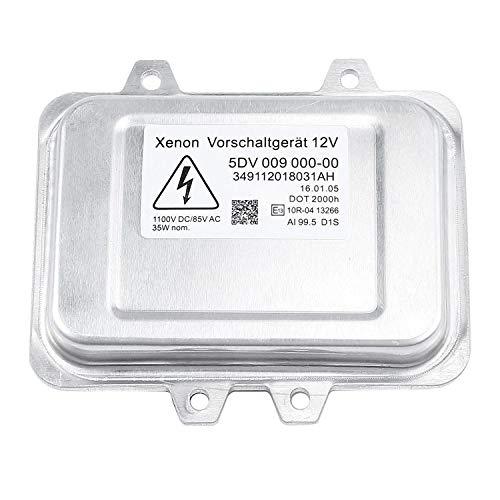 Cikuso 5Dv 009 000-00 Xenon Versteckte Scheinwerfer-Vorschaltger?t-Steuereinheit Für Cadillac Escalade 2007-2013,2006-2009 5-Serie E60,Mercedes Benz,Dodge,Lincoln,Chrysler