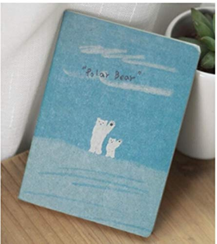 Heng Mini Old Painting Lovely Cute Notebooks voor het schrijven van Daily Book Stationery Office School Supplies, Bear