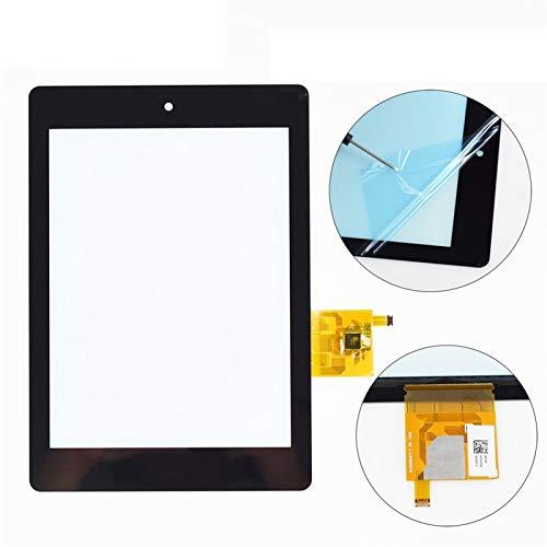 HUOGUOYIN Kit de reemplazo de pantalla 7.9 '' Pollici Touch Screen Panel Digitizer Glass Adatta per Acer Iconia Tab A1 810 A1-810 A1-811 Nero Kit de reparación de pantalla de repuesto (Color : Black)