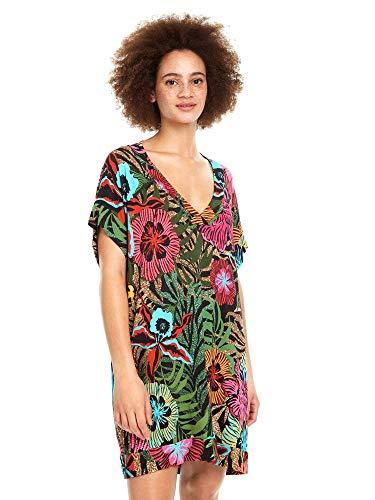 Desigual - Vestido Playero Xenia Mujer Color: 3054 Talla: Size M
