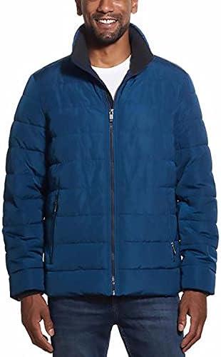 Weatherproof Men's Ultra Luxe Water Resistant Puffer Jacket (Blue Sphere, XX-Large)