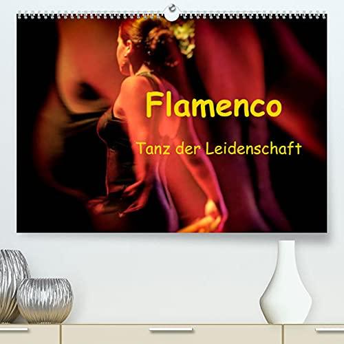 Flamenco - Tanz der Leidenschaft (Premium, hochwertiger DIN A2 Wandkalender 2022, Kunstdruck in Hochglanz): Flamenco, der spanische Tanz der Leidenschaft. (Monatskalender, 14 Seiten )