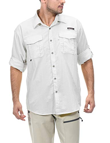 Little Donkey Andy Men's UPF 50+ UV Protection Shirt,...