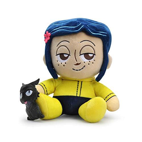 Kidrobot Coraline and The Cat Plush Phunny