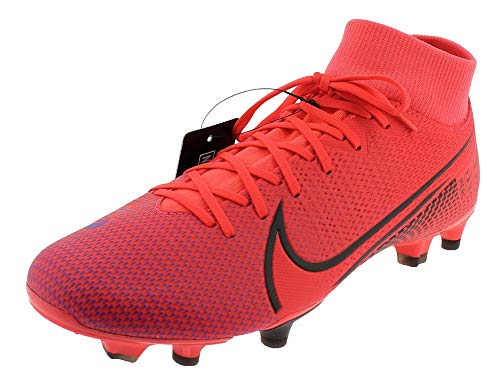 Nike Herren Superfly 7 Academy Fg/Mg Fußballschuhe, Rot (Laser Crimson/Black-Laser Crim 606), 44.5 EU