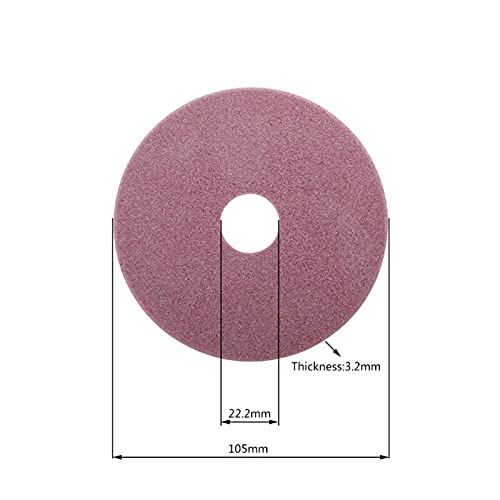 HWYJ Grinding Wheel Electric Chainsaw Sharpener Diamond Grinding Wheel 98/105/145mm Thickness 3.2/4.5mm Edge Cutting and Polishing Chain Saw Teeth Durable (Outer Diameter : 03)