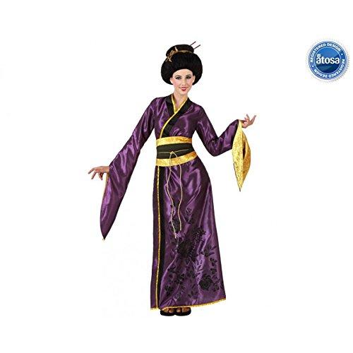 Disfraz de japonesa violeta: Amazon.es: Juguetes y juegos