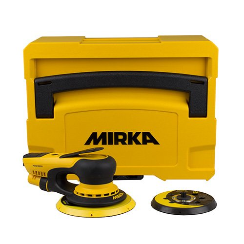 Mirka Deros 5650cv 125/150mm Vacuum Orbit 5mm Kiste