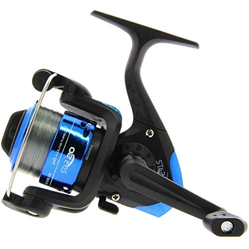 NGT Angling Pursuits Star 20 - 1BB Fixed Spool SMALL Spinning Reel with 8lb...