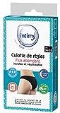 INTIMY CARE - Culotte de règles taille 36-38 - Flux ABONDANTS - Culotte menstruelle 95% coton bio - Lavable et...