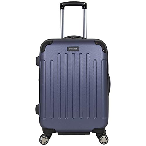 """Kenneth Cole Reaction Renegade 20"""" Carry-On Lightweight Hardside Expandable 8-Wheel Spinner Cabin Size Suitcase, Smokey Purple, inch"""