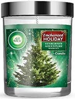 Air Wick Enchanted Holiday Evergreen Adventure Scented Candle, 5oz by Air Wick