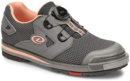 Dexter Womens SST 8 Power Frame BOA Grey/Peach Bowling Shoes