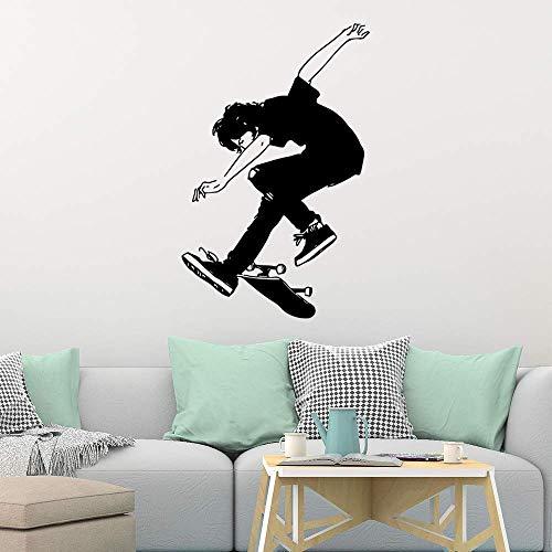 Skateboard Familie Wandbild Künstler Living Decoration Kinderzimmer Dekoration Wanddekoration 45X69Cm