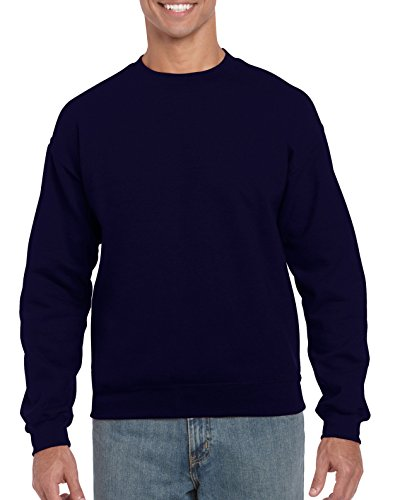 Gildan Men's Heavy Blend Crewneck Sweatshirt - X-Large - Navy
