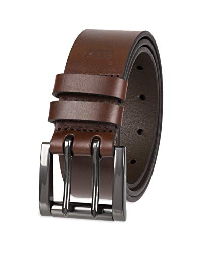 Levi's Men's Double Prong Casual Belt, Brown Bobby, 44
