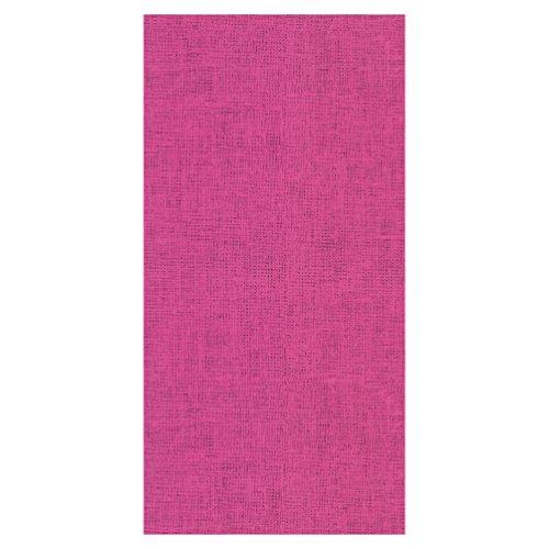 Susy Card 11449550 tafelkleed, tafeldecoratie motief: linnen roze, softdecor bedrukt, 120x180 cm