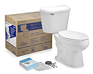 Mansfield PRO-FIT 2 COMPLETE elongated toilet kit - 581161 This is highly durable This is manufactured in United states