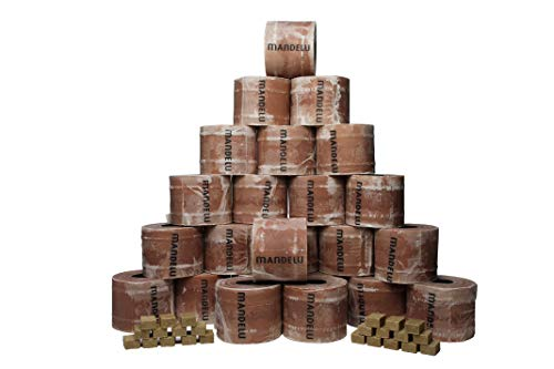 Mandelu Wachsrollen 24 Stück mit Anzündwürfeln