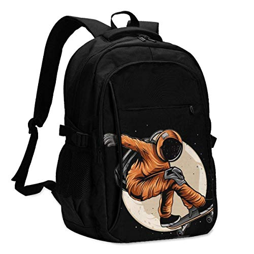 XCNGG Astronaut Skater Personalized Customization Fashionable with USB Charging Backpacks