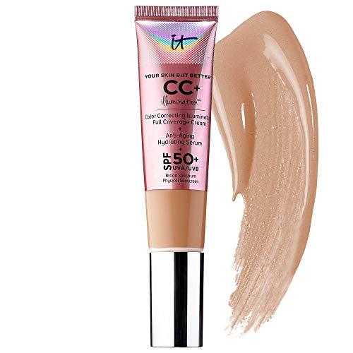 IT Cosmetics, CC+ Illumination SPF 50+, 1.08oz, Medium Tan