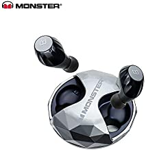 Monster New Clarity HD Airlinks High Definition True Wireless Earbuds Black