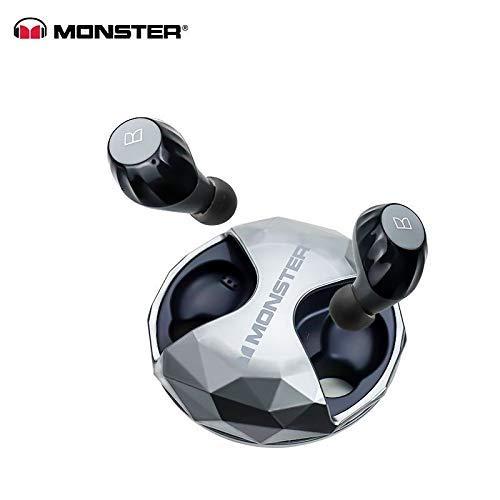 Monster Clarity HD Airlink - Auriculares de Diadema inalámbricos (Alta definición), Color Negro
