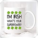 Not Applicable Irish Mug, St. Patricks Tagesbecher, St Patricks Day, Irish Mug, Irish Coffee Mug, 11 Unzen Keramik Kaffee Neuheit Becher/Tasse