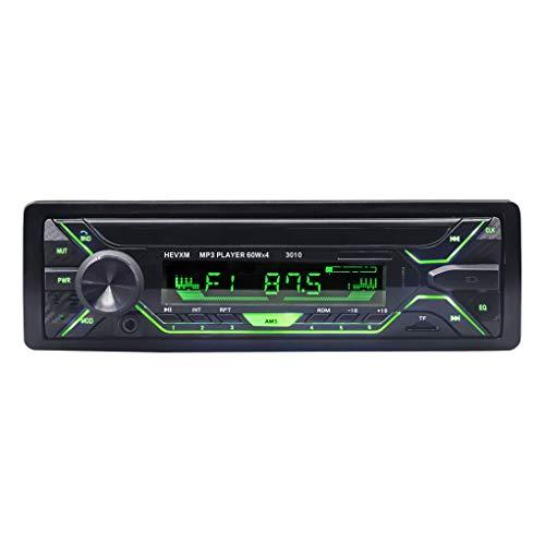 Demino Radio autoradio Bluetooth AUX-in MP3 FM/USB / 1 DIN/Remote Hands-Free voor het regelen van oproepen en auto-MP3-speler of