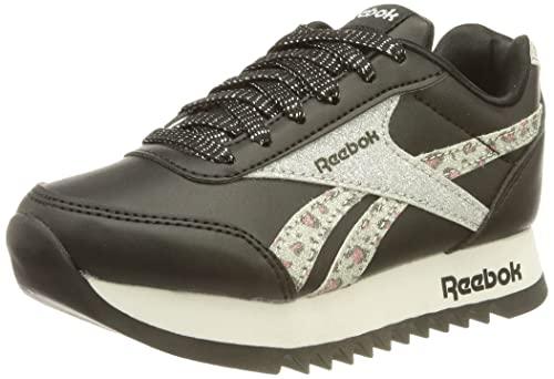 Reebok Royal CLJOG 2 Platform, Zapatillas de Running Mujer, NEGBÁS/Plamet/FTWBLA, 36.5 EU