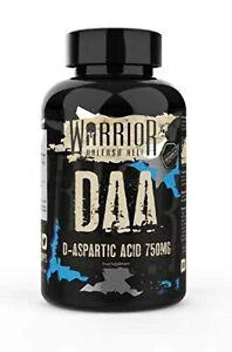 Warrior DAA / Ultra-Premium D-Aspartic Acid (120 Caps)