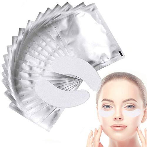 Wimpern Pads, Wimpernverlängerung Pad, Wimpernverlängerung Augenpads, Eyelash Extensions Patch, für Wimpernverlängerungen Eyelash Extensions Wimpern Färben Augenwimper Beauty - 50 Paare