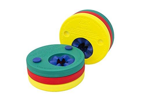 Leisis 0101032 Brazalete con 6 Discos acoplables, Multicolor, Talla Única