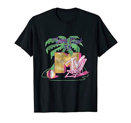 MTV Spring Break 88' Classic Logo T- Shirts