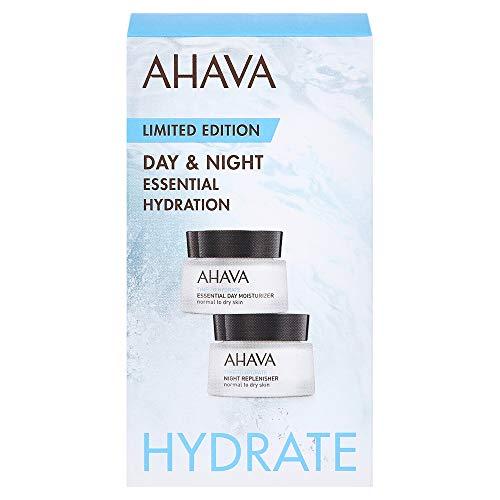 AHAVA Essential Hydration Day & Night Gesichtspflegeset (Tagespflege,15ml+Nachtpflege,15ml)