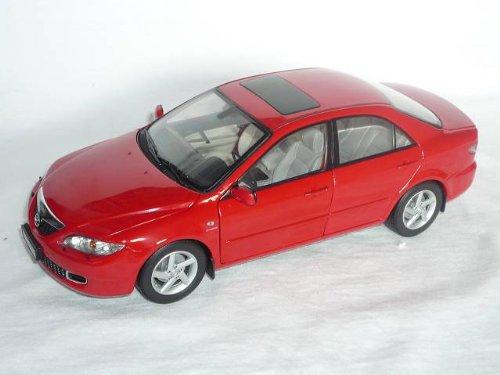 Mazda M6 M 6 2006 Limousine Sedan Rot 1. Generation 1/18 Hengdee Modellauto Modell Auto