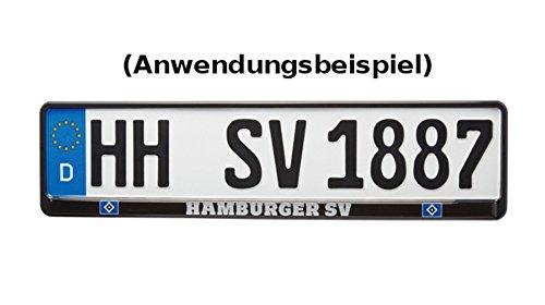 HSV Hamburger SV Kennzeichenhalter Logo Exklusiv