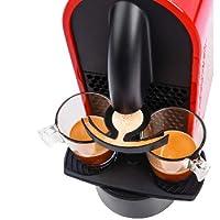 risparmia sulle capsule di caffè nespresso. con l'accessorio 2xcap puoi preparare due caffè con ogni capsula. 1 capsula 2 caffè.