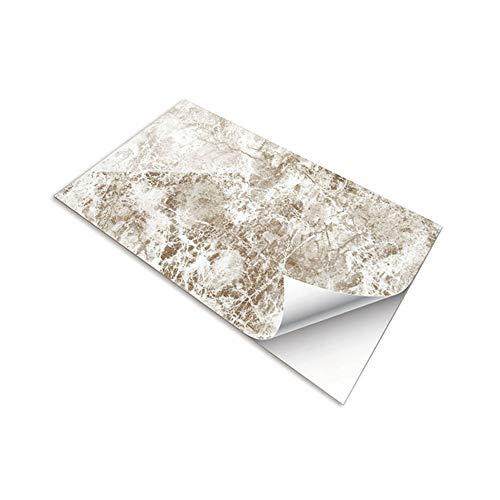 Fupeiwen 3 Piezas de Adhesivos de Marmoleo (30 x 60 cm), Fondo de Pantalla Autoadhesivos Calcomanías Impermeables para Cocina, Sala de Estar, Baño, Azulejos