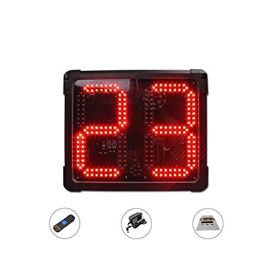 うん広げるはっきりとNEWTRY LEDタイマー 24秒カウントダウン スポーツタイマー ストップウォッチ タイミング 大型 2桁 バスケ/野球/サッカー/卓球/バドミントン/競技/試合など用 室内、室外用