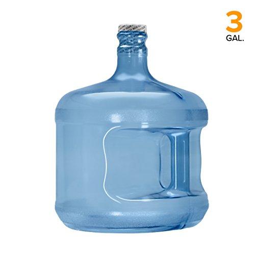 BPA-Free Reusable Plastic Water Bottle Gallon Jug Container - (3 Gallon)