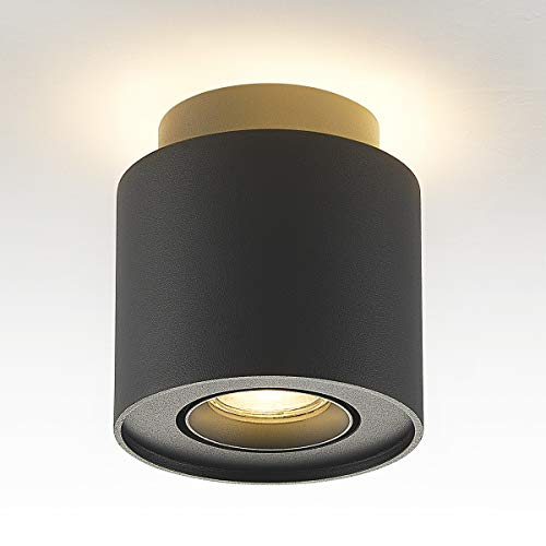 Budbuddy 6+5W Focos superficie GU10 Focos para el techo LED Focos led techo focos techo Luces de Techo Plafón Focos Foco led interior techo 230V [incluye 5W bombillas LED]