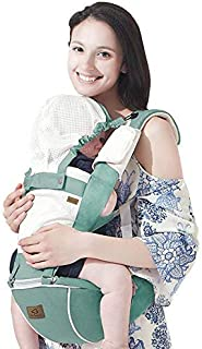 Bebamour Designer Sling and Baby Carrier 2 in 1 (Green)