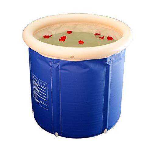 Portable Adulto Bañera, Baño Plegable Cubo Plegable Bathbarrel Piscina Grande de PVC Antideslizante Inicio Móvil Más Pequeño de Baño
